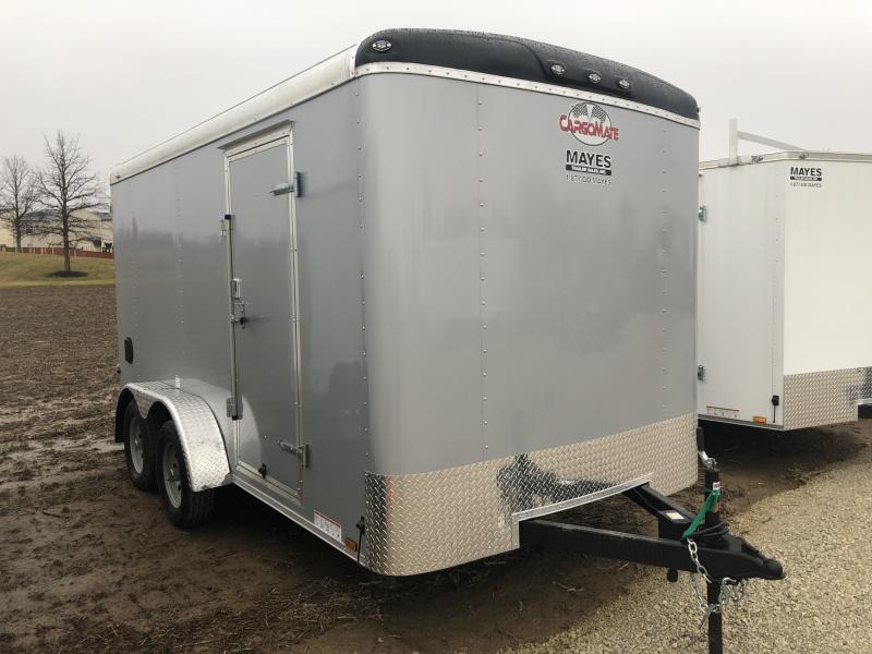 2019 7x14 Cargo Mate BL714TA2 Enclosed Cargo Trailer - Ramp Door (GVW:  7000)