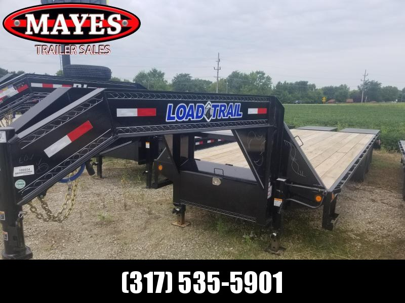 2019 102x28(23+5' Dovetail) Load Trail GH28 Flatbed Trailer - w/ Max Ramps (GVW: 24000 )gooseneck