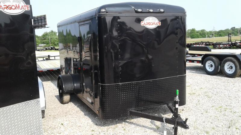 2020 6x12 SA Cargo Mate BL612SA Enclosed Cargo Trailer - Ramp Door - Black Out Package (GVW:  2990)