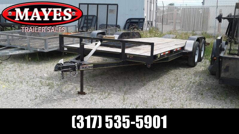 2018 Other 18 Flatbed Trailer Equipment Trailer