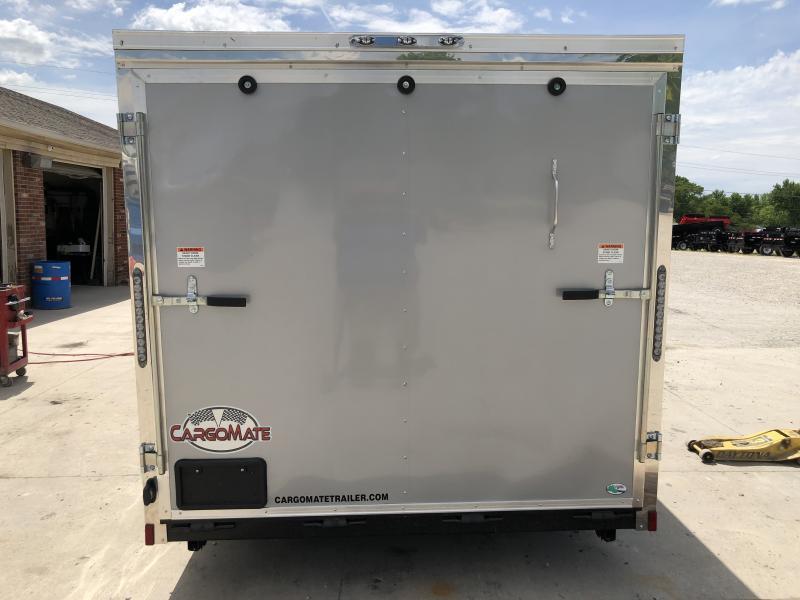 2020 7x14 TA Cargo Mate EHW714TA2 Enclosed Cargo Trailer - Ramp Door - Slant V-Nose (GVW:  7000)