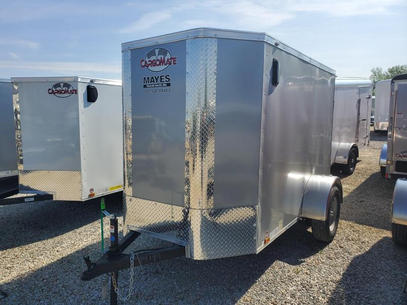 2019 5x8 Cargo Mate EHW58SA Enclosed Cargo Trailer - Ramp Door - 6