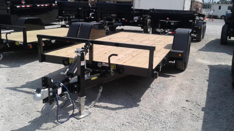 2020 B-B 6x12 (10+2) UT6X12NRT-7E Utility Trailer - Drop Axle (GVW:  7000)