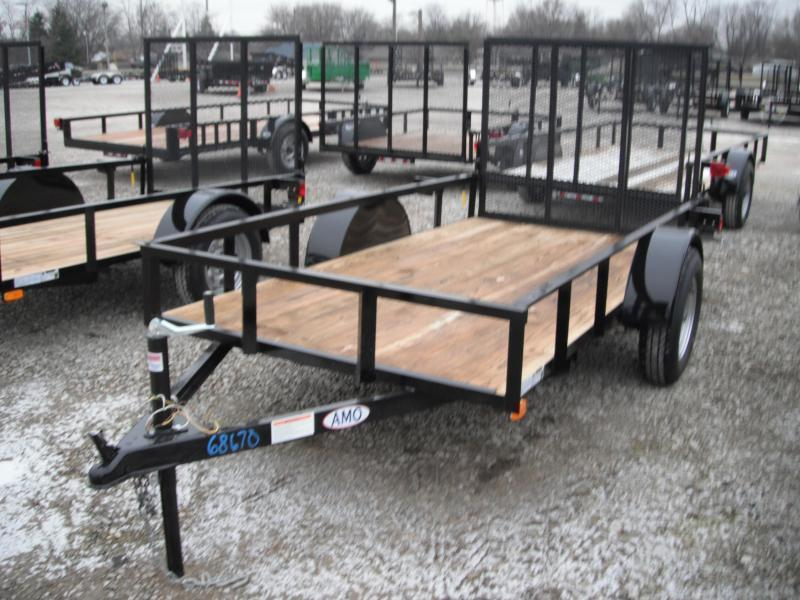 2018 5x10 American Manufacturing Operations A510GN Utility Trailer (GVW: 2990)