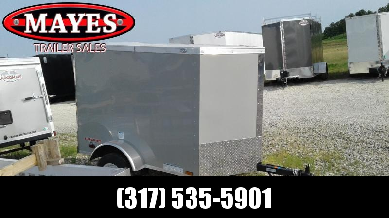 2020 4x6 SA Cargo Mate EHW46SA Enclosed Cargo Trailer - Single Rear Door (GVW:  2000)