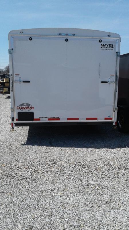 2019 102x24 Cargo Mate BL824TA4 Enclosed Cargo Trailer - White (RD)(GVW: 12000)