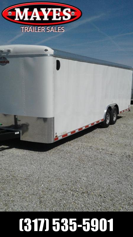 2019 102x24 Cargo Mate BL824TA4 Enclosed Cargo Trailer - White (RD)(GVW: 12000)