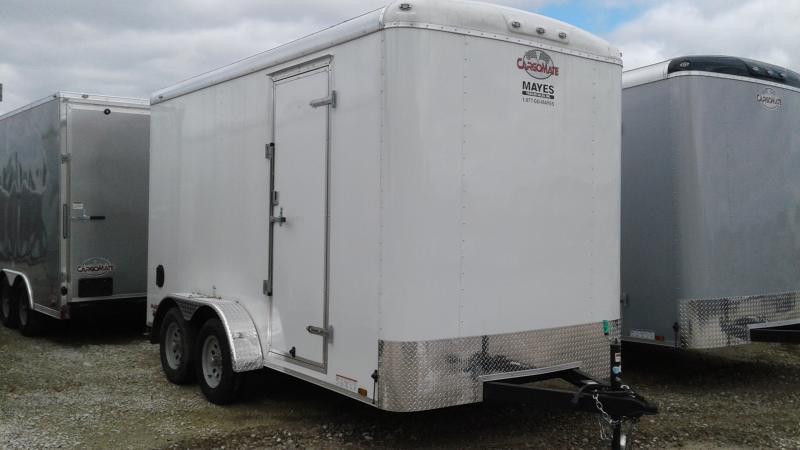 2019 7x14 TA Cargo Mate BL714TA2 Enclosed Cargo Trailer - Ramp Door - 12