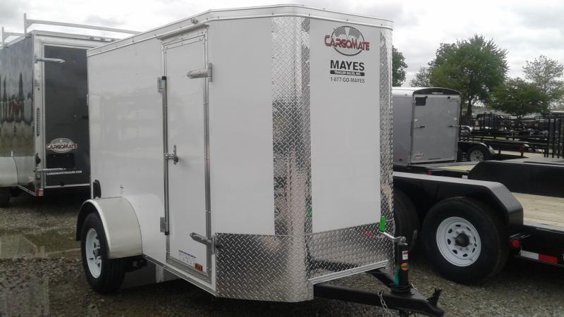 2020 5x8 SA Cargo Mate EHW58SA Enclosed Cargo Trailer - Ramp Door - 6