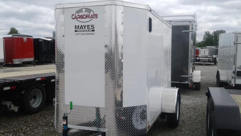 2020 5x8 SA Cargo Mate EHW58SA Enclosed Cargo Trailer - Ramp Door - 6