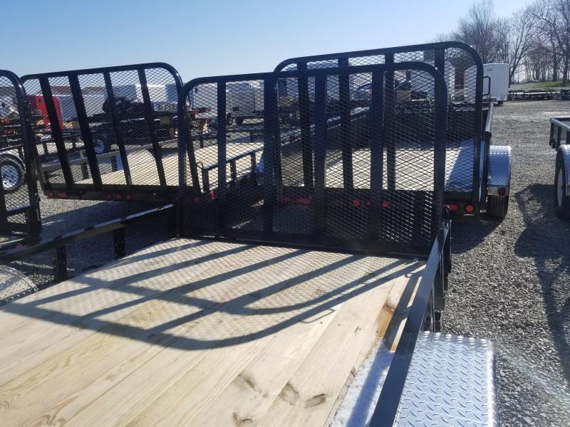 2019 83x18 PJ Trailers UL182 Utility Trailer - 4' Tailgate (GVW:  7000)