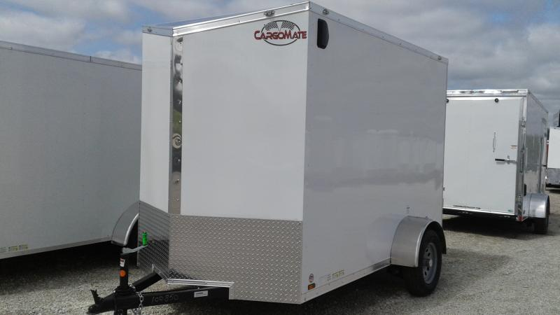 2020 6x10 SA Cargo Mate EHW610SA Enclosed Cargo Trailer - Ramp Door - 12