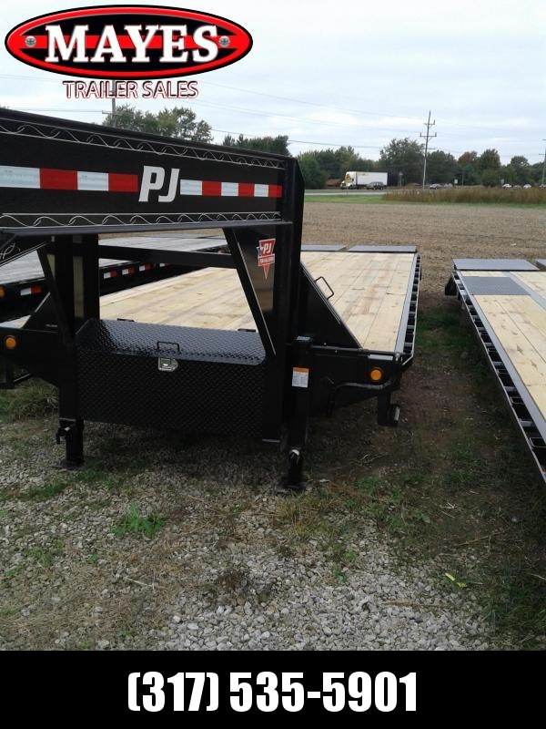 2019 102x30 (25+5)  PJ Trailers FD302 Equipment Trailer Gooseneck - 25+5 (GVW:  25000)