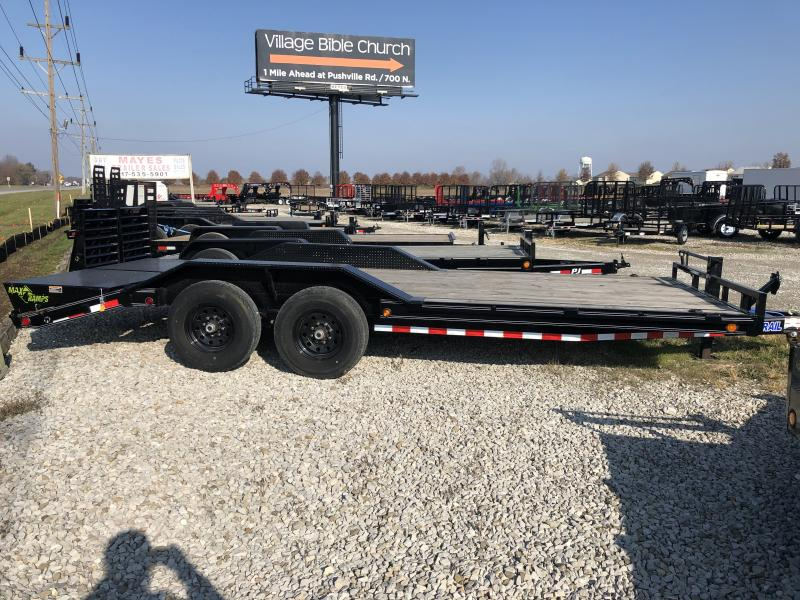2019 102x20(16.3+3.5' Dovetail) Load Trail CH20 Car / Racing Trailer - w/ Max Ramps (GVW: 14000) *Drive-over Fenders*