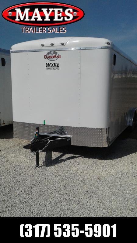 2019 8x22 Cargo Mate BL822TA3 Enclosed Cargo Trailer - Ramp Door - Side Door (GVW:  9800)
