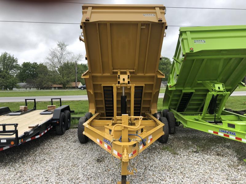 2019 83x14 TA Dump Load Trail - 3-Way Gate - Tarp Kit - ***7 Gauge Floor & HD Double Channel Ramps (GVW:  14000)