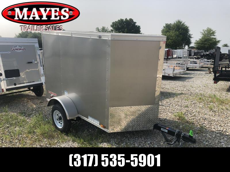 2020 4x6 SA Cargo Mate EHW46SA Enclosed Cargo Trailer - 1 Rear Door (GVW:  2000)
