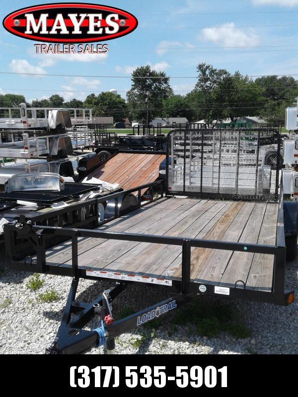 2018 83x14 Load Trail SE83 Utility Trailer - w/ 4' Spring Assist Gate (GVW: 3000)(ATV Ramps)