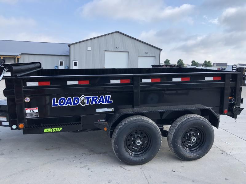 2019 83x12 TA Load Trail DT8312072 Dump Trailer - 3 Way Gate - Ramps - Scissor Hoist (GVW:  14000)