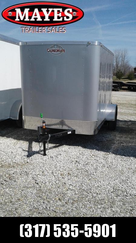 "2020 6X10 Cargo Mate SS610SA Enclosed Cargo Trailer -  Double Door - 6"" Additional Height - .030 Metal Upgrade (GVW:  2990)"