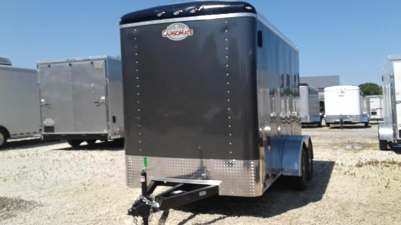 2020 6x12 TA Cargo Mate BL612TA2 Enclosed Cargo Trailer - Ramp Door - 6 Inch Additional Height (GVW:  7000)