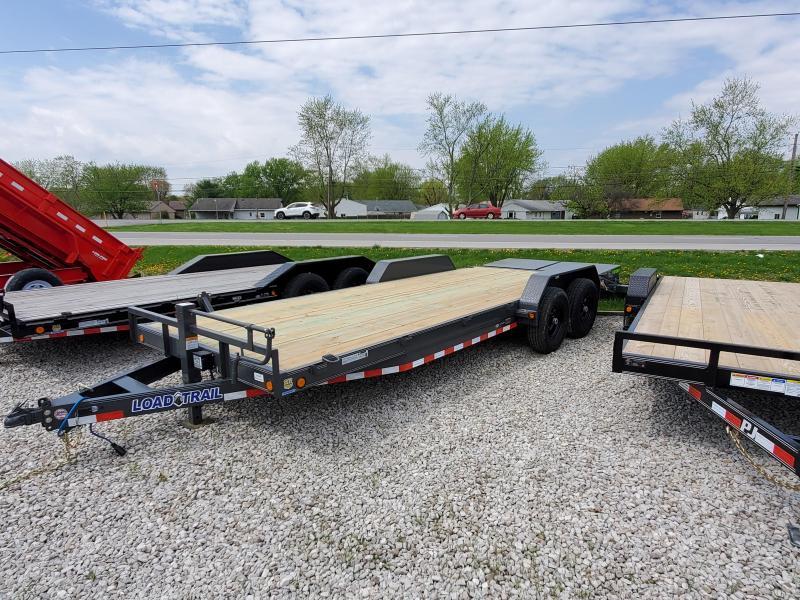 "2019 83""x22' (20+2) TA Load Trail CH8322072 Car / Racing Trailer - Max. Ramps (GVW:  14000)"