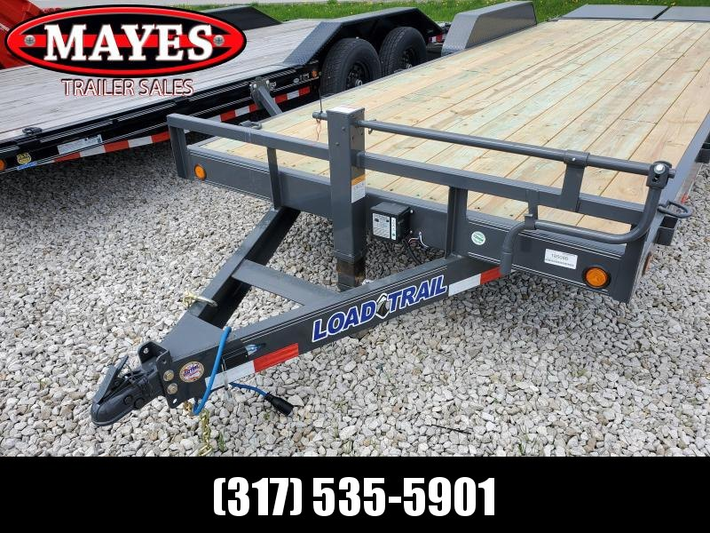 "2019 83""x22' (20+2) TA Load Trail CH8322072 Trailer - Max. Ramps (GVW:  14000)"