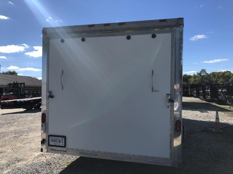 2004 102x24 Cargo Mate ELA8524TA3 Enclosed Cargo Trailer - Aluminum Frame - White (RD)(GVW: 9800) *USED*