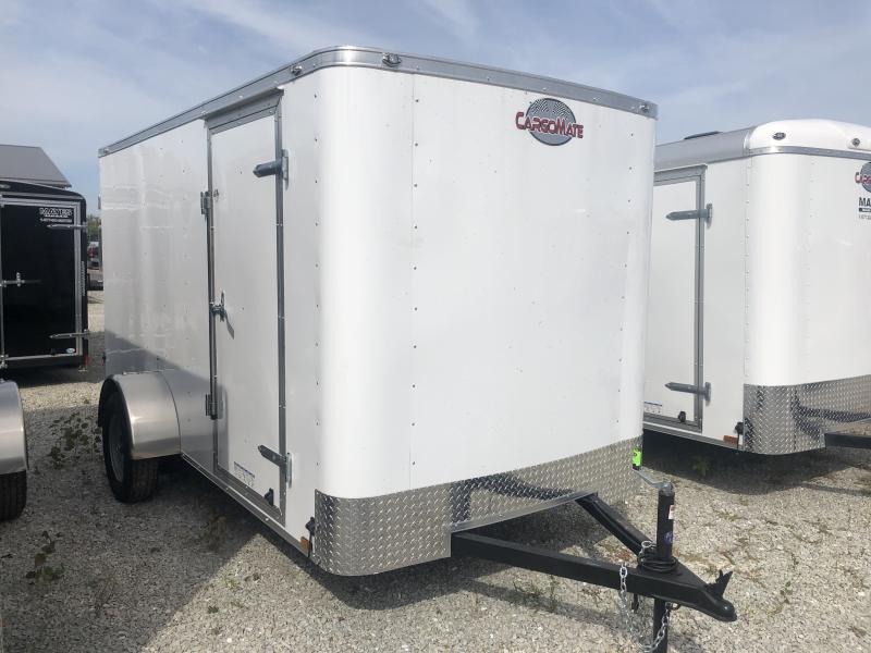 2020 6x12 SA Cargo Mate SS612SA Enclosed Cargo Trailer - Double Door - 6 Inch Additional Height (GVW:  2990)