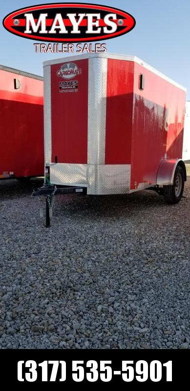 "2019 5x8 Cargo Mate EHW58SA Enclosed Cargo Trailer - Double Door - 6"" Additional Height (GVW:  2990)"