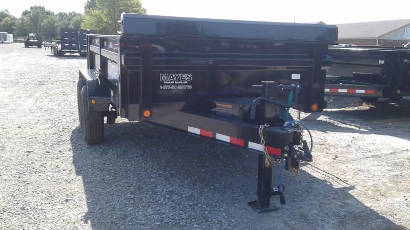 2019 83x12 TA Load Trail DT8312072 Dump Trailer - 3-Way Gate - Scissor Hoist - Ramps (GVW:  14000)