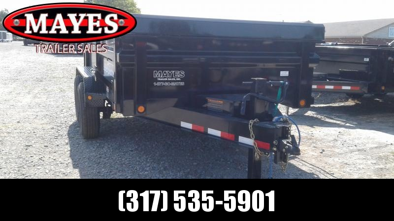 2019 83x12 TA Load Trail DT8312072 Dump Trailer - 3-Way Gate - Scissor Hoist - Ramps (GVW:  14000)