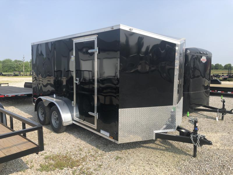 2020 7x14 TA Cargo Mate EHW714TA2 Enclosed Cargo Trailer - Ramp Door (GVW:  7000)