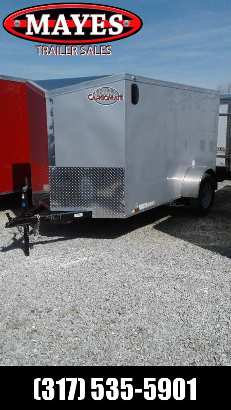 2019 5x10 Cargo Mate EHW510SA Enclosed Cargo Trailer - Diamond Ice (RD)(GVW: 2990)