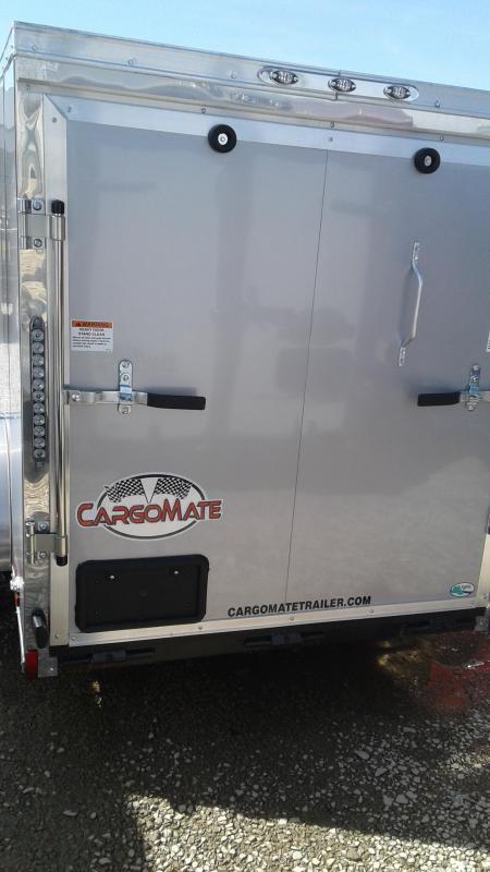 2019 5x10 Cargo Mate EHW510SA Enclosed Cargo Trailer - Diamond Ice (RD)(GVW: 2990)