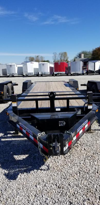 2019 83x24(16' Tilt + 8' Stationary) Load Trail Tilt-n-go Tandem Axle Equipment Trailer - (GVW: 14000)