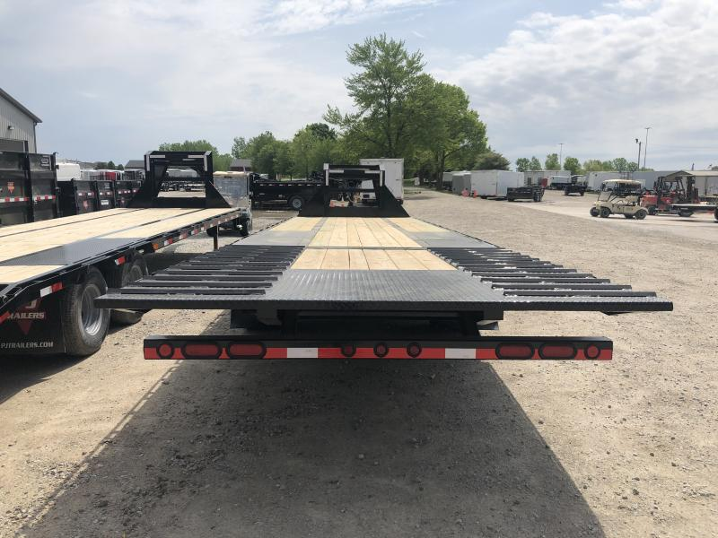 "2019 102x32 (23+9) Load Trail 102""x32' TA Low Pro Gooseneck - Hyd. Dovetail (GVW:  24000)"