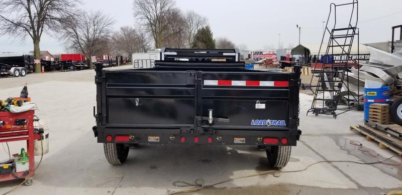 "2019 83x14 TA Load Trail 83"" X 14' Tandem Axle Gooseneck Dump Dump Trailer - 3-Way Gate (GVW:  14000)"