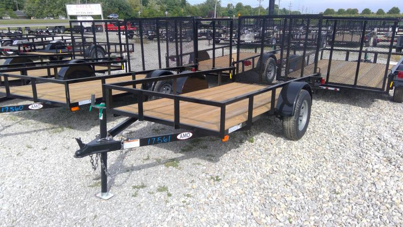 2020 60x10 SA American Manufacturing Operations (AMO) US101 Utility Trailer - Tailgate (GVW:  2990)