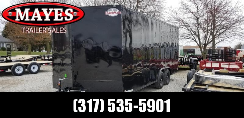 2020 8.5x20 TA Cargo Mate EHW8.520TA3 Enclosed Cargo Trailer - Ramp Door - Black Out Package - 6