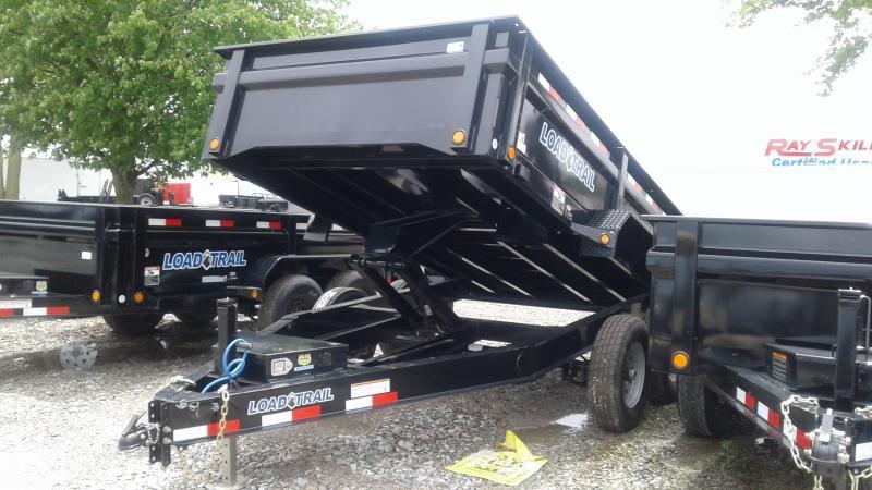 2019 83x12 TA Load Trail DT8212072 Dump Trailer - Scissor Hoist - Tarp Kit - 3-Way Gate (GVW:  14000)