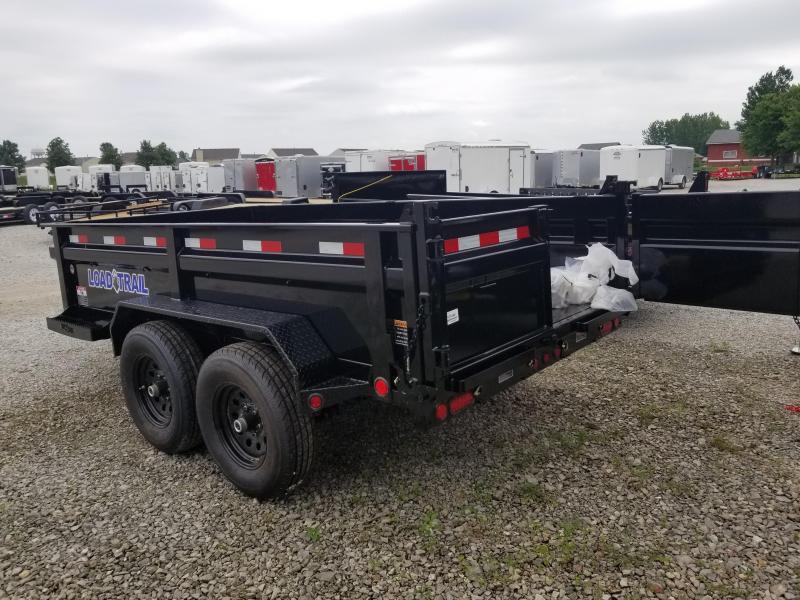 2018 72x12 Load Trail DT12 Dump Trailer - (Split/Spreader Gate)(Tarp Kit)(GVW: 9990)