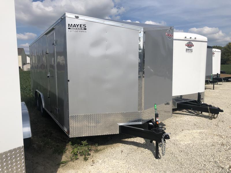 2020 8.5x20 TA Cargo Mate EHW8.520TA3 Enclosed Cargo Trailer - Ramp Door - .030 Metal Upgrade (GVW:  9800)