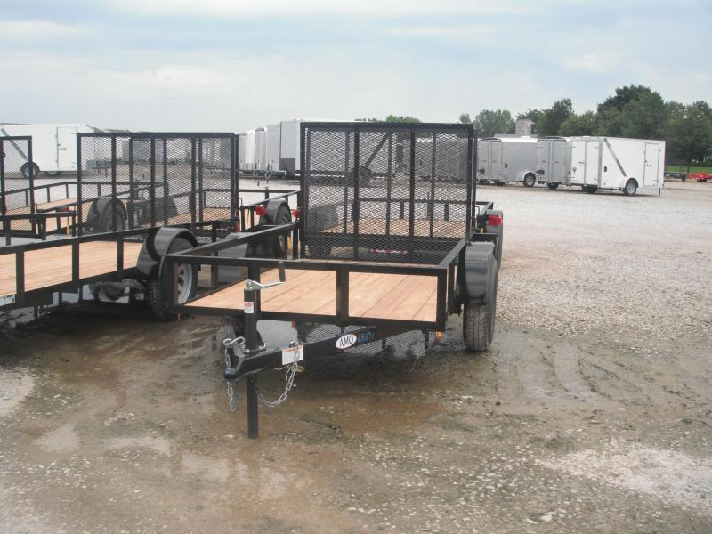 2018 5x8 American Manufacturing Operations A580GN Utility Trailer - 4' Gate (GVW: 2990)