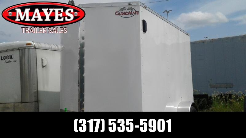 "2020 6x10 SA Cargo Mate EHW610SA Enclosed Cargo Trailer - Ramp Door - 12"" Additional Height (GVW:  2990)"