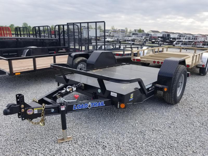 2018 5x10 Load Trail SH60 Tilt Trailer Scissor Hauler - (GVW: 7000)