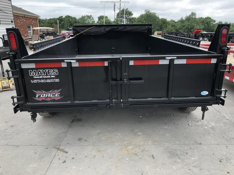 2020 68x12 Force Dump by Forest River Inc. HDL6812TA4 Dump Trailer (GVW:  12000)