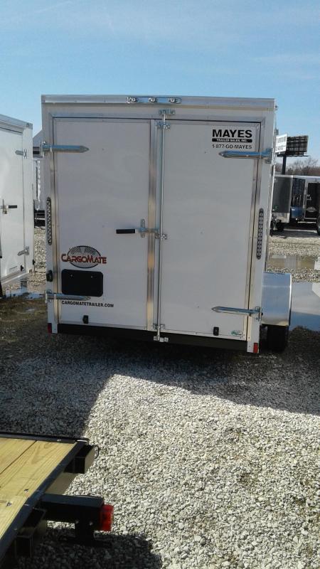 "2020 6x10 Cargo Mate SS610SA Enclosed Cargo Trailer - Double Door - 6"" Additional Height (GVW:  2990)"