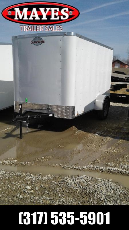 "2020 6x10 Cargo Mate SS610SA Enclosed Cargo Trailer - Double Door - 6"" Additional Height (GVW:  2990) in Ashburn, VA"