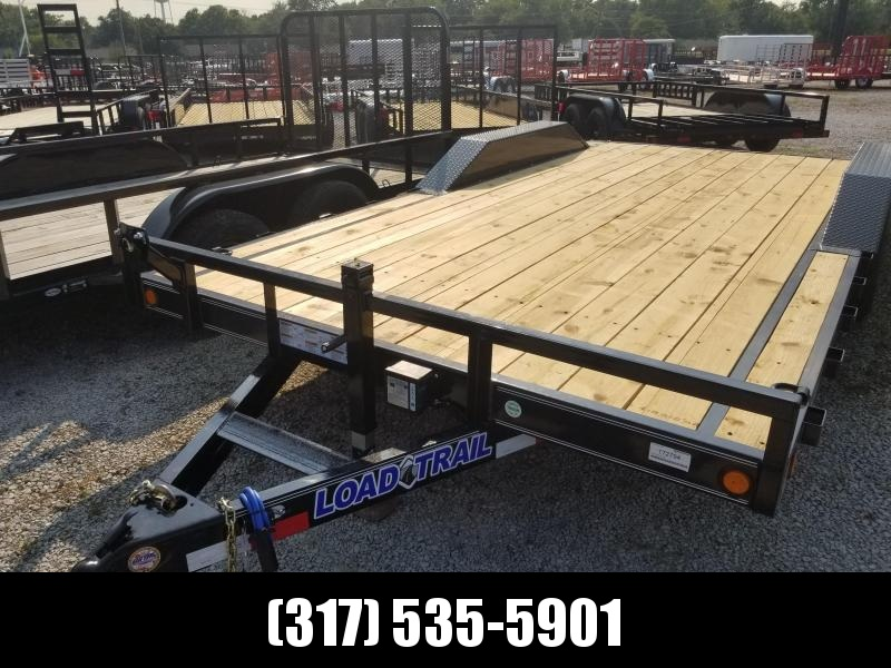 2019 102x18(16+2' Dovetail) Load Trail CH18 Car / Racing Trailer - w/ 5' Slide-in Ramps (GVW: 9990) *Drive-over Fenders*